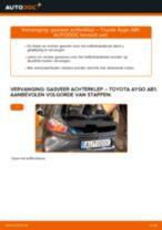 Remslang veranderen TOYOTA AYGO: gratis pdf