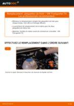 Tutoriel PDF étape par étape sur le changement de Roulement Boîtier Du Roulement Des Roues sur Golf 4
