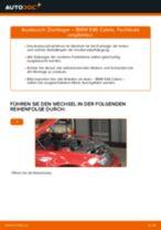 BMW 3 Convertible (E46) Achskörperlager: Schrittweises Handbuch im PDF-Format zum Wechsel