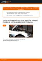BMW 3 Touring (E46) Axialgelenk: Schrittweises Handbuch im PDF-Format zum Wechsel