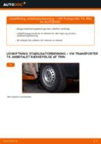 Undervogn og Bærearme udskifter og reparationsmanual med illustrationer