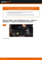 Notre guide PDF gratuit vous aidera à résoudre vos problèmes de RENAULT RENAULT MEGANE II Saloon (LM0/1_) 1.9 dCi Ressort d'Amortisseur