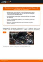 Remplacement de Disque sur RENAULT MEGANE II Saloon (LM0/1_) : trucs et astuces