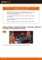 Comment changer : disques de frein avant sur BMW E46 cabriolet - Guide de remplacement