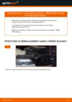 Comment changer : plaquettes de frein avant sur BMW E46 touring - Guide de remplacement