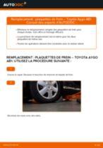 Notre guide PDF gratuit vous aidera à résoudre vos problèmes de TOYOTA Toyota Aygo ab1 1.4 HDi Bougies d'Allumage
