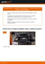 Comment changer : coupelle d'amortisseur avant sur Skoda Fabia 6Y5 - Guide de remplacement