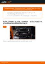 Comment changer : flexible de frein avant sur Skoda Fabia 6Y5 - Guide de remplacement
