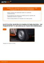 Tutorial de reparación y mantenimiento de VW T3 Transporter