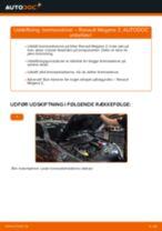 Hvorfor og hvordan skifte af Bremseskiver RENAULT MEGANE II Saloon (LM0/1_): vejledning pdf