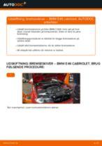 Udskift bremseskiver for - BMW E46 cabriolet   Brugeranvisning