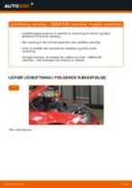 Udskift tårnleje for - BMW E46 cabriolet | Brugeranvisning