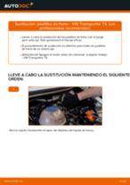 Manual online sobre el cambio de Juego de pastillas de freno por su cuenta en VW TRANSPORTER IV Bus (70XB, 70XC, 7DB, 7DW)