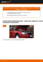 Udskift bremseslange for - BMW E46 cabriolet | Brugeranvisning