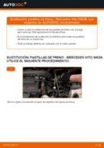 Reemplazar Juego de pastillas de freno MERCEDES-BENZ VITO: pdf gratis