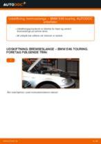 Udskift bremseslange for - BMW E46 touring | Brugeranvisning