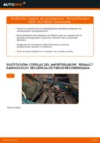 Manual de instrucciones RENAULT KANGOO