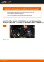 Manual online sobre el cambio de Juego de pastillas de freno por su cuenta en RENAULT MEGANE II Saloon (LM0/1_)