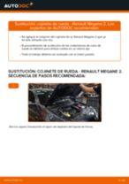 PDF manual sobre mantenimiento MEGANE