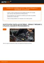 Tutorial de reparación y mantenimiento de Renault Megane 2 Familiar