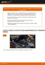 Cómo cambiar: discos de freno de la parte trasera - Renault Megane 2 | Guía de sustitución