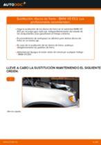Cómo cambiar: discos de freno de la parte delantera - BMW X5 E53 | Guía de sustitución