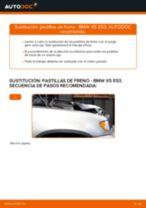 Tutorial paso a paso en PDF sobre el cambio de Pastillas De Freno en BMW X5 (E53)