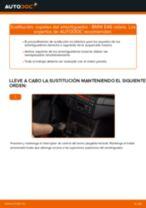 Cómo cambiar: copelas del amortiguador de la parte trasera - BMW E46 cabrio | Guía de sustitución