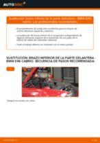 Aprender cómo solucionar el problema con Brazo De Suspensión izquierdo y derecho BMW