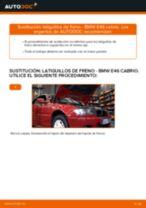 Reemplazo Manguera de frenos instrucción pdf para BMW 3 SERIES