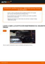 Cómo cambiar: pastillas de freno de la parte delantera - BMW E46 touring | Guía de sustitución