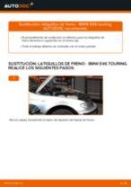 Cuándo cambiar Línea de freno BMW 3 Touring (E46): manual pdf
