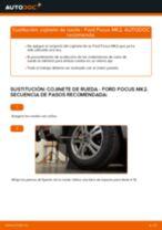 Cómo cambiar: cojinete de rueda de la parte trasera - Ford Focus MK2 | Guía de sustitución