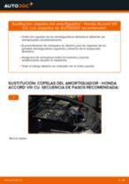 Tutorial de reparación y mantenimiento de Honda Accord Familiar mk8
