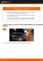 Guía de reparación paso a paso para Honda Accord VIII CU