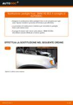 Come cambiare Pinza freno a disco posteriore e anteriore Fiat Punto 176 - manuale online