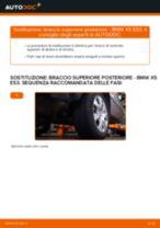 Tutorial di riparazione e manutenzione BMW X5 Van (G05)