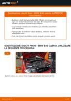 Come cambiare dischi freno della parte anteriore su BMW E46 cabrio - Guida alla sostituzione