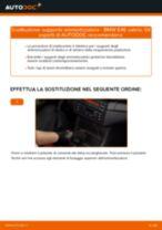 Come cambiare supporto ammortizzatore della parte posteriore su BMW E46 cabrio - Guida alla sostituzione