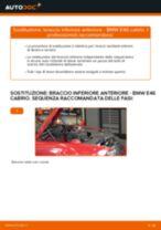 Come cambiare braccio inferiore anteriore su BMW E46 cabrio - Guida alla sostituzione