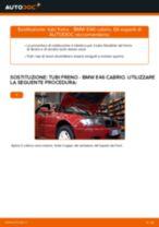 Come cambiare tubi freno della parte anteriore su BMW E46 cabrio - Guida alla sostituzione
