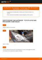 Le raccomandazioni dei meccanici delle auto sulla sostituzione di Tergicristalli TOYOTA Toyota Aygo ab1 1.4 HDi