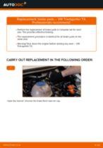 Changing Master Cylinder VW TRANSPORTER: workshop manual