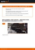 Auto mechanic's recommendations on replacing MERCEDES-BENZ Mercedes W168 A 170 CDI 1.7 (168.009, 168.109) Track Rod End