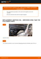 Changing Glow Plugs MERCEDES-BENZ A-CLASS: workshop manual