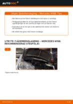 Byta fjäderbenslagring fram på Mercedes W168 – utbytesguide
