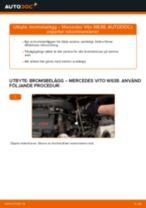 Byta Glödlampa Skyltbelysning MERCEDES-BENZ själv - online handböcker pdf