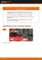 Byta fjäderbenslagring fram på BMW E46 cabriolet – utbytesguide
