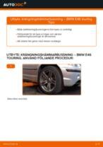 Byta krängningshämmarbussning fram på BMW E46 touring – utbytesguide