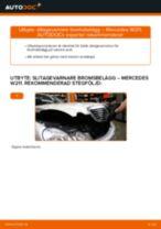 JP GROUP 1397300500 för E-klass Sedan (W211) | PDF instruktioner för utbyte